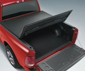 New 2019 Dodge Ram Crew Cab 5 7 5 8 Bed Tri Folding Pro Tonneau Tonno Cover