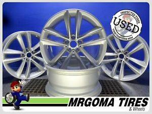 19 Bmw Rims Wheels Set Of 4 Oem 7 Series Lknew 19x8 5 8 5x19