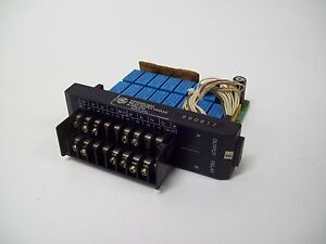 Ge Fanuc Ic610mdl182a Output Relay Module 16 circuits Used Free Shipping