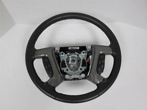 09 10 11 12 13 Cadillac Escalade Tahoe Yukon Steering Wheel W Controls