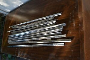 1959 Cadillac Fleetwood Door Side Stainless Trim Your Choice All 8 Pieces Avail