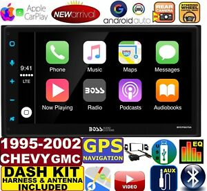 1995 02 Chevy Gmc Navigation Bluetooth Apple Carplay Android Auto Car Stereo