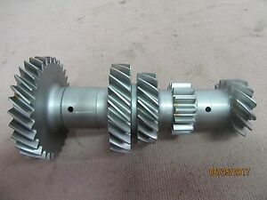 62 65 Ford Mustang Falcon Dagenham 4 Speed Transmission Cluster Gear Used