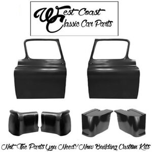 1955 1959 Chevy Truck Door Shells Cab Corners Inner Outer Kit