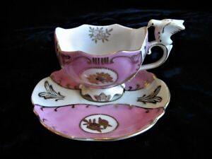 Vintage Royal Sealy China Cup And Saucer