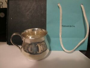 Vintage Tiffany Co Sterling Silver Large And Heavy Child Youth Mug