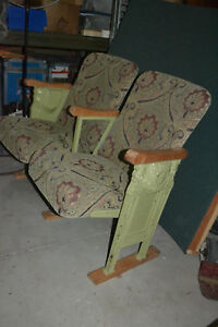 Antique Theater Seats Art Deco Nouveau Starlight Cinema Seat Cast Iron