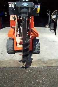 Toro Dingo Auger Package By Mcmillen W 12 Auger Bit high Torque Low Speed