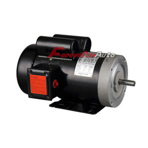 New 2 Hp Electric Motor 56c Single Phase Tefc 115 230 Volt 3450 Rpm