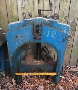 Wachs Guillotine Saw Model D Pipe Fitters Saw 3pt Power Hacksaw Machinist Fitter