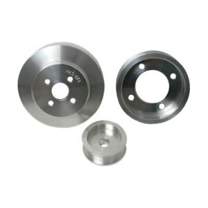 Bbk 94 95 Mustang 5 0 Underdrive Pulley Kit Lightweight Cnc Billet Aluminum