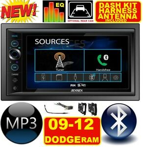 2009 2012 Dodge Ram Truck Bluetooth Touchscreen Usb Sd Aux Car Radio Stereo