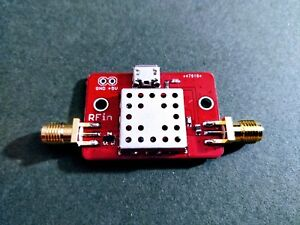 Low Noise Amplifier Filtered Lna For Airband 118 140 Mhz Gain 20 Db Nf 1 Db