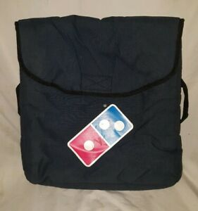 Dominos Insulated Heat Thermal Pizza Delivery Carry Bag 18 X 18 Lot Of 2