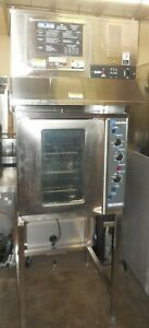 Used Moffat e32ms Electric Convection Oven Giles ovh 10 Ventless Hood