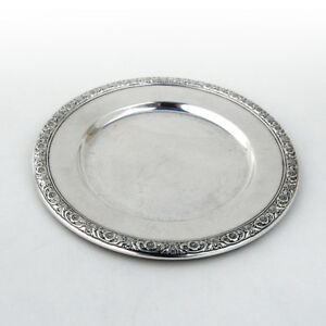 Prelude Bread And Butter Plate Sterling Silver International 1939