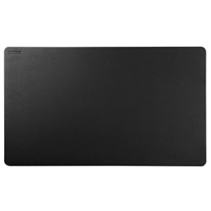 Black Leather Desk Pad Sundaylo Pu Leather Desk Mouse Mat Blotters Organizer For