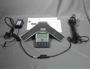 Cisco Ip Conference Phone Station Cp 7937 Poe Cable Poe Injector Ac Adapter