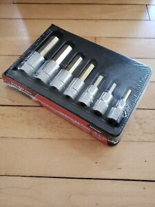 new Snap On 307esamy 7 Pc 1 2 Metric Hex Socket Set Free Priority Shipping