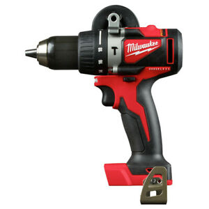 Milwaukee 2902 80 M18 Brushless 1 2 In Hammer Drill tool Only Recon