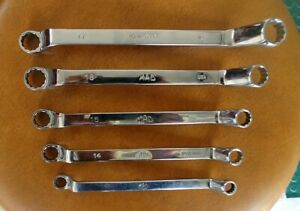 Mac Tools 5 Pc Metric Long 60 Offset 12 Pt Double Box End Wrench Set Sbodm52ptr