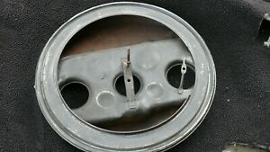 Original 1961 62 63 64 Pontiac Factory Tri Power Air Cleaner 3x2 Base