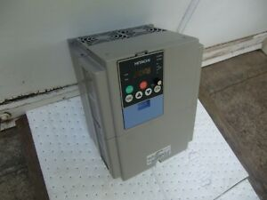 Hitachi Inverter L300p 075hbrm Variable Frequency Drive 10hp Unit Refurbished