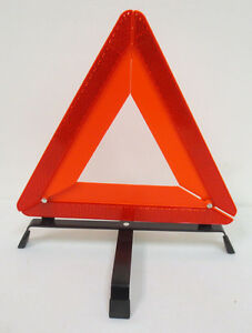 Roadside Emergency Warning Reflective Collapsible Stand Triangle New Auto Orange