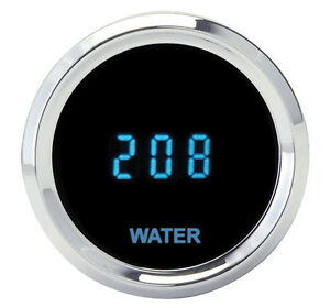 Dakota Digital Universal Solarix Water Temperature Gauge Blue Display Slx 04 1