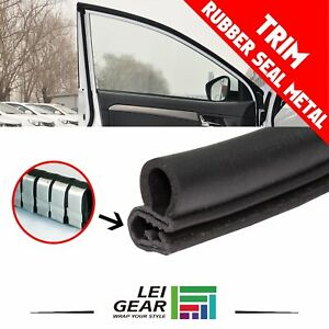 40ft Rubber Strip Seal Trim Weatherstrip For Car Door Trunk Hood Edge Protection