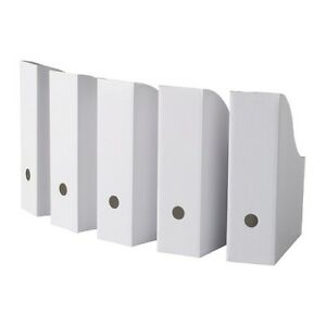 40 Ikea Flyt Magazine File Storage Organizer Pack Of 40 White