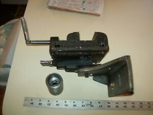 Customized Clamp Tool Holder Assembly From Vintage Shepherd 10 Metal Lathe