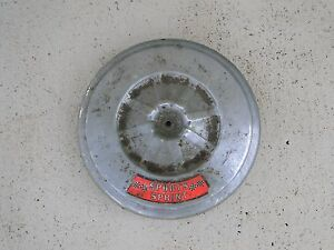 Vintage Mustang 60 s Breather air Filter Cover