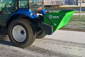 Sami Sls1250 Self Loading Tractor 3pt Pto Salt And Sand Spreader 50 Inch