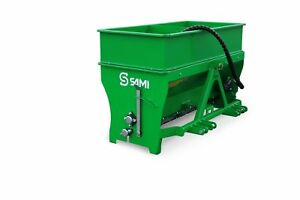 Sami St1250 Tractor 3pt Salt And Sand Spreader 50 Inch