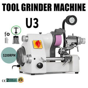 U3 Universal Tool Cutter Grinder Machine 5 Collets Low Noise Multi functional