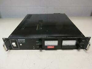 Sorensen Dcr 20 50b Dc Power Supply Output 20 Vdc 50 Amp