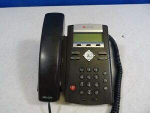 Polycom Soundpoint Model Ip 335 Voip Sip Phone Digital Office Business Telephone