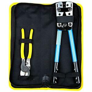 Crimpers Battery Cable Lug Tool 6 50mm Wire Crimping Tool Hand Electrician For