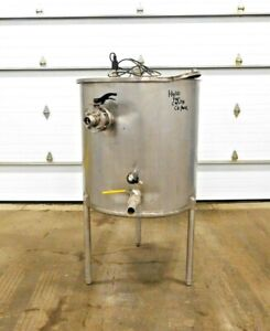 Mo 2890 Stainless Steel 150 Gallon Storage Tank 36 Dia X 38 Deep 304 Ss