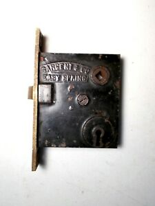Antique High Quality Sargent Co Easy Spring Mortise Lock Latch