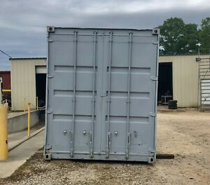 40 foot ft High Cube Steel Cargo Intermodal Shipping Container Houston Tx