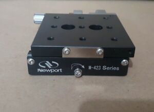 Newport M 423 Precision Linear Translation Stage With Micrometer