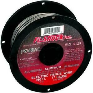 Fi shock Electric Fence Wire 250 Aluminum