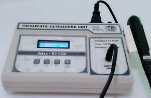 New 3 Mhz Ultrasound Therapy Unit Lcd Machine Physiotherapy Ultrasound Gkjb