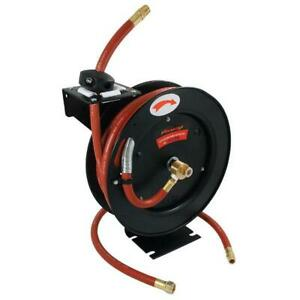 Neilsen 1 2 Id 15mtr 50ft Retractable Air Hose Reel Ct1535