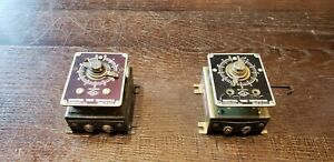 1 Mint 1 Parts Vintage Itc Industrial Timer Corporation Model Sf 6 Timers