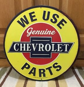 Chevrolet Parts Shop Cars Coupe Super Chevy Coke Vintage Style Decor