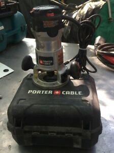 Porter Cable Router Model 892 2.25 Hp 12 Amp 120V Variable Speed Fixed Base Tool