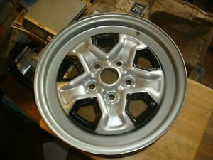 Nos Chevy Olds Ralley Wheel 14x6 14078531